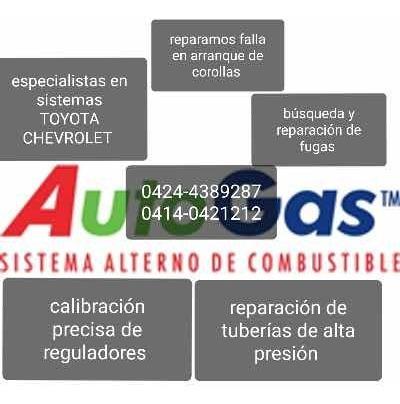 servicio de reactivación del sistema de gas  gnv automotriz
