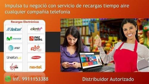 servicio de recargas telefonicas