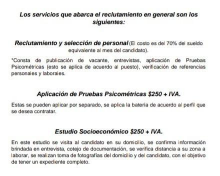 servicio de reclutamiento y seleccion de personal orve