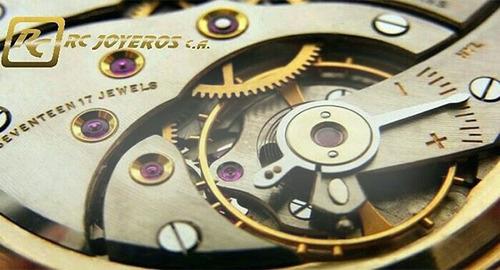 servicio de reparacion de relojes, prendas de oro,plata,