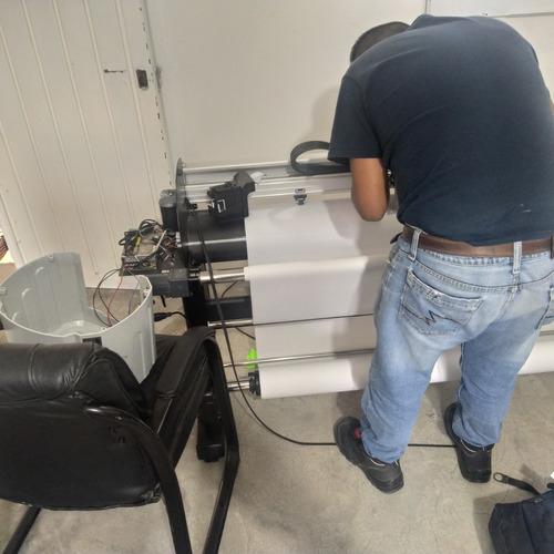 servicio de reparación para plotters gerber lectra ioline