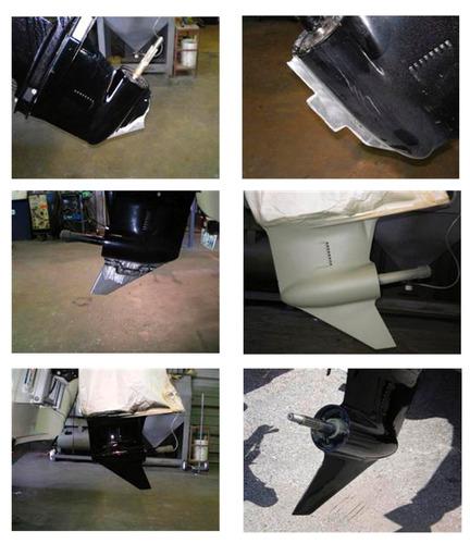 servicio de reparación y balanceo de propela, quilla y buje