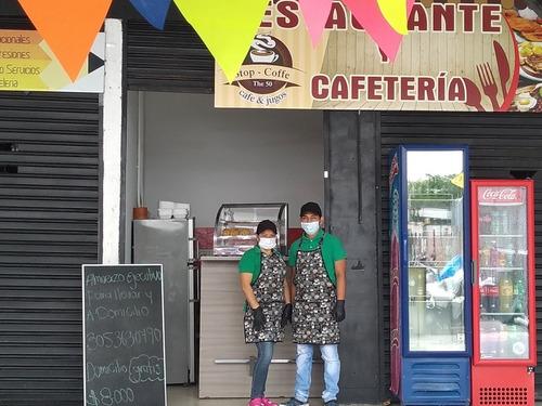 servicio de restaurante y cafetería