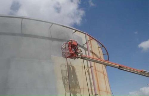 servicio de sandblasting, pintura y aislamiento termico