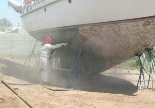 servicio de sandblasting, wetblasting, arenado y pinturas