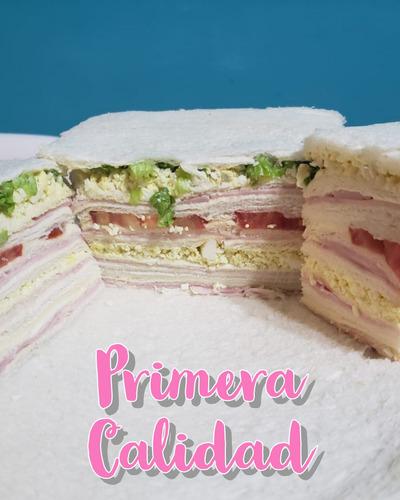 servicio de sandwich de miga triples lunch candy bar