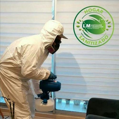 servicio de sanitización y desinfección preventiva