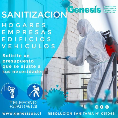 servicio de sanitizacion y limpieza