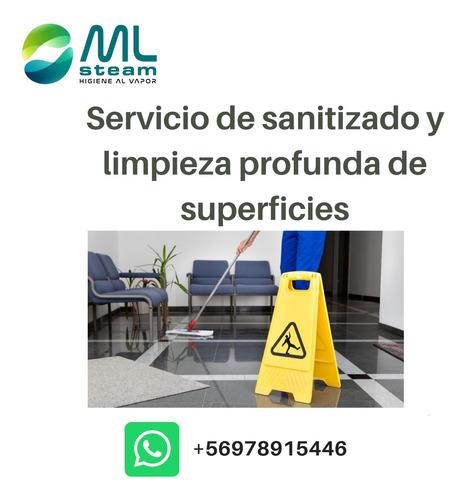 servicio de sanitizado y limpieza profunda de superficies