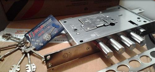servicio de seguridad, cerraduras securemme mod. 2503