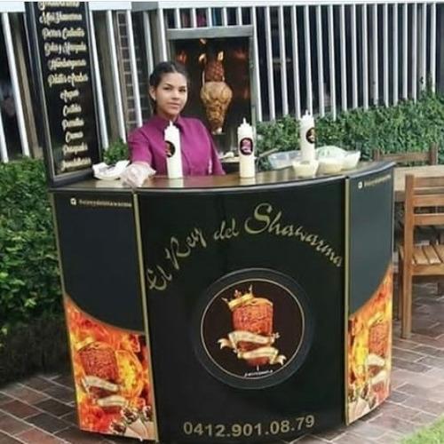 servicio de shawarma