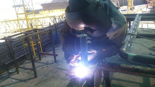 servicio de soldadura en general,estructuras (proyectos)