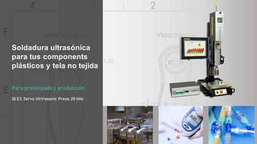 servicio de soldadura ultrasónica para componentes plásticos
