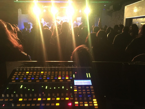 servicio de sonidista/ amplificación/ eventos grab. en vivo.