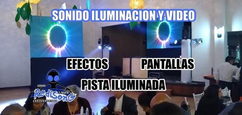servicio de sonido e iluminación dj para eventos