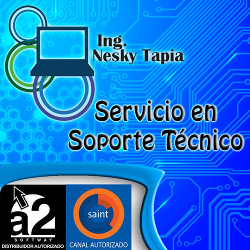 servicio de soporte técnico a2 softway (certificado)