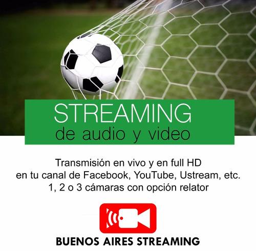 servicio de streaming, cctv y grabación móvil portátil