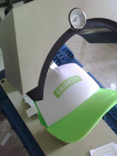 servicio de sublimacion estampado para franelas, gorras,
