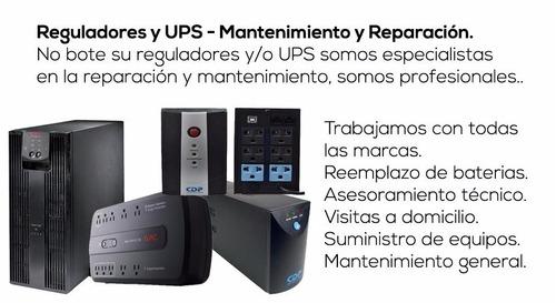 servicio de suministro / reemplazo baterias para ups y mant