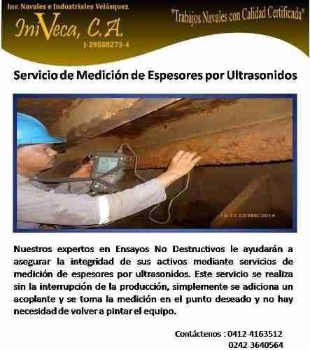 servicio de toma de espesores en buques - ultrasonido