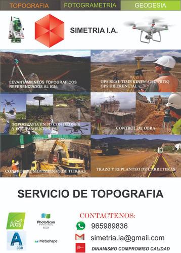 servicio de topografia , topografo , dron , fotogrametria