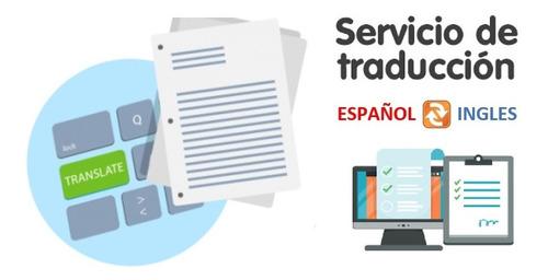 servicio de traducciones libres