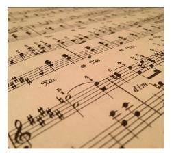 servicio de transcripción musical, partituras y arreglos