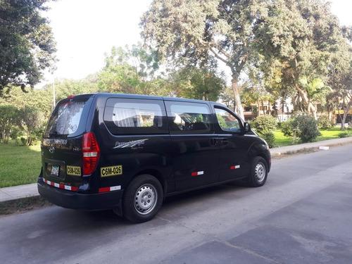servicio de transporte de personas.