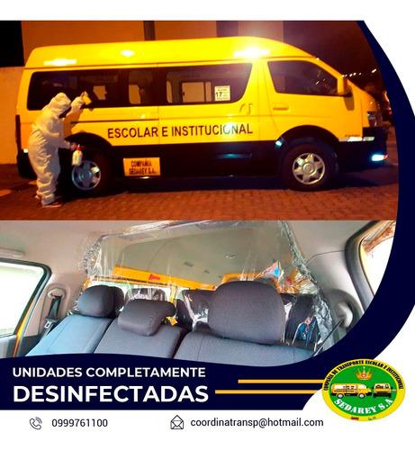 servicio de transporte empresarial