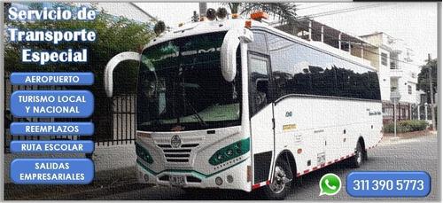 servicio de transporte especial!!!