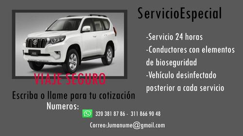 servicio de transporte especial ejecutivo