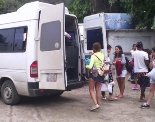 servicio de transporte privado