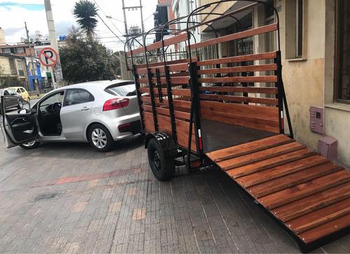 servicio de transporte trailer remolque dentro fuera d ciuda