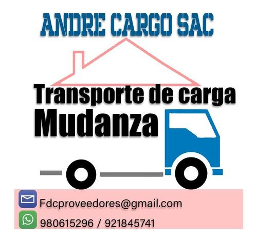 servicio de transporte y mudanzas carga economico 980615296