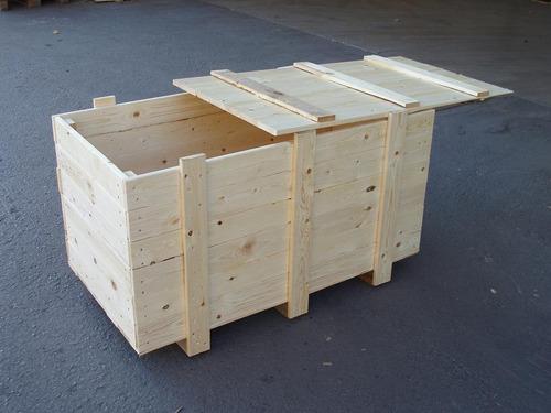 servicio de transportes de carga y embalaje de madera
