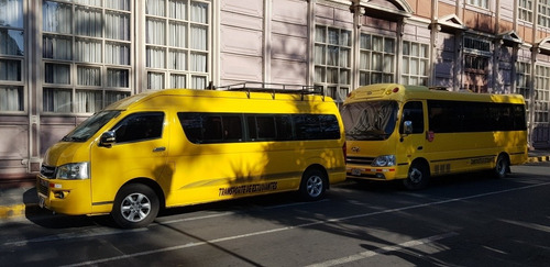 servicio de trasporte de microbús, especiales, fiestas y tur