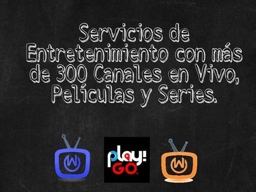 servicio de tv en tu smartphone y tablet
