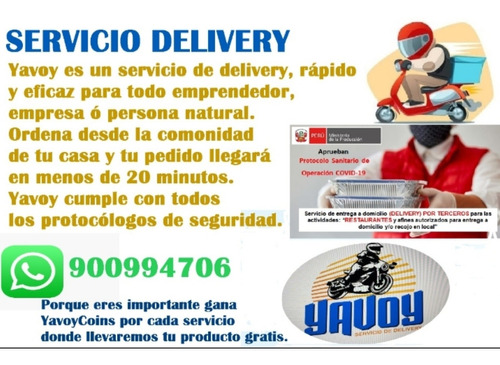 servicio delivery rápido ¿¿