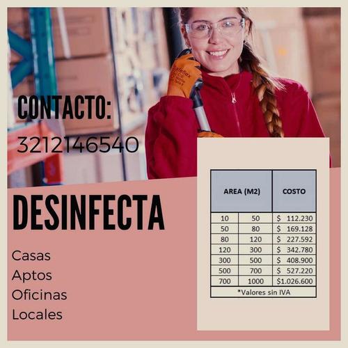 servicio desinfección
