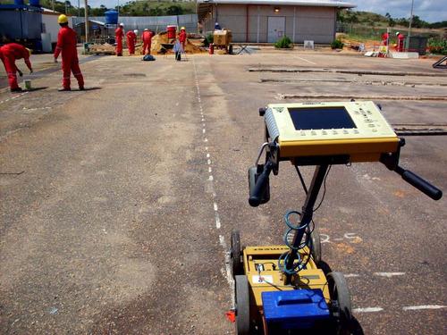 servicio detección georadar y detector de flujos