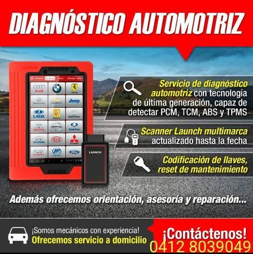 servicio diagnostico automotriz escaneo ecu profesional