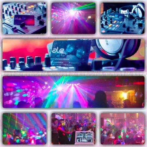 servicio disc jockey - mini disco - sonido - iluminación dj