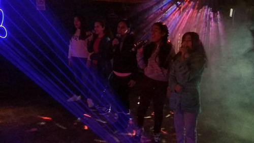 servicio  discoteca pantalla dj cumpleaños   karaoke anima