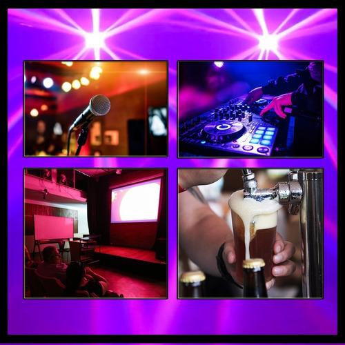 servicio dj alquiler luces sonido bafles karaoke proyector