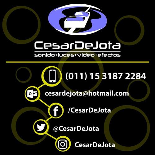 servicio dj disc jockey cesardejota iluminacion sonido video