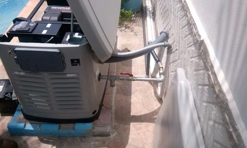 servicio e instalación de plantas eléctrica- gas o diesel
