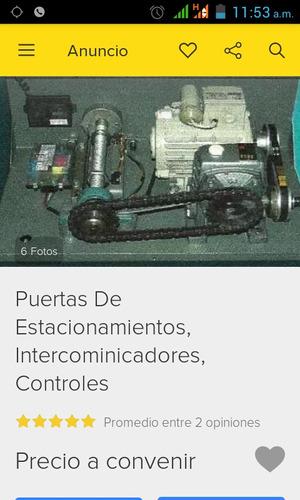 servicio e instalación motores arroyables