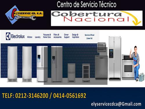 servicio electrolux técnico neveras lavadoras autorizado