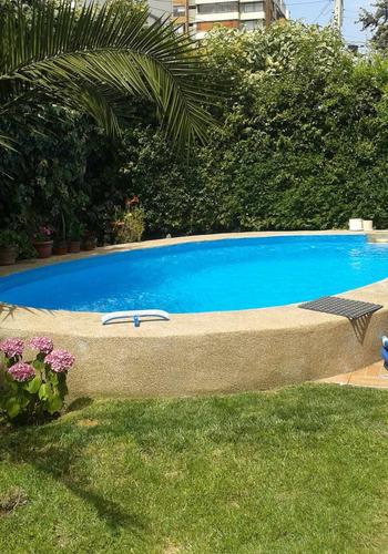 servicio en mantenciones de piscinas, y riego automático