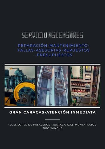 servicio en mantenimiento de ascensores